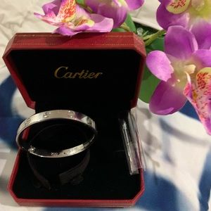 Jewelry - Bangle stainless steel silver